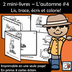 2 petits livres – L'automne #4