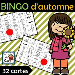 Bingo d'automne - 32 cartes