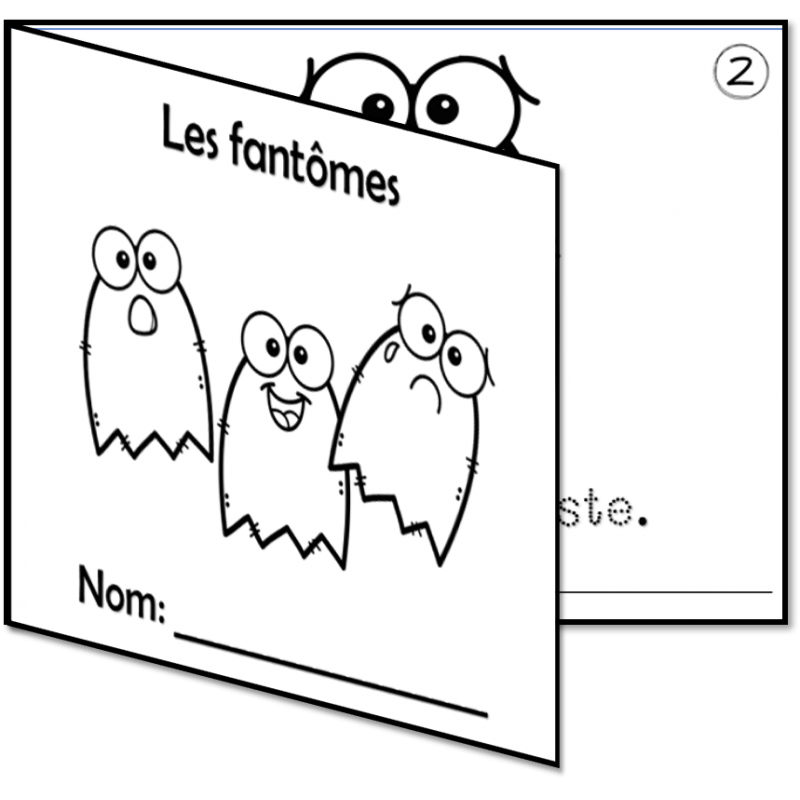 2 Petits Livres Theme L Halloween