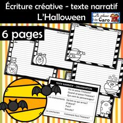 Écriture créative - texte narratif - L'Halloween