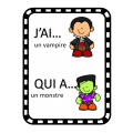 JEU de vocabulaire  - L'Halloween - J'ai… Qui a…