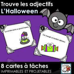 Trouve les adjectifs - L'Halloween