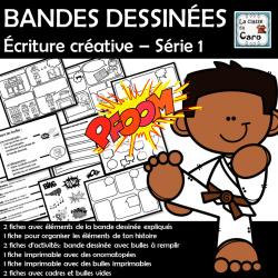 BANDES DESSINÉES Écriture créative – Série 1
