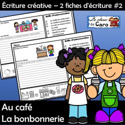 Écriture créative  - Au café - La bonbonnerie