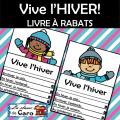 Vive l'HIVER! LIVRE À RABATS - Écriture créative