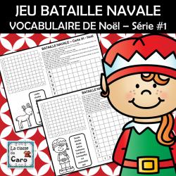 JEU BATAILLE NAVALE - Noël – Série #1