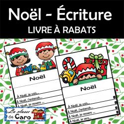 Noël - Écriture LIVRE À RABATS