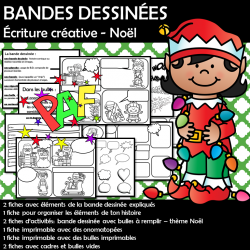 BANDES DESSINÉES Écriture créative - Noël