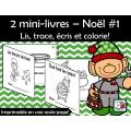 Lis, trace, écris et colorie! Noël
