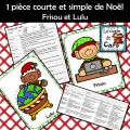 1 pièce courte et simple de Noël - Frisou et Lulu