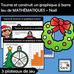 Graphique à barre - Jeu de MATHÉMATIQUES – Noël