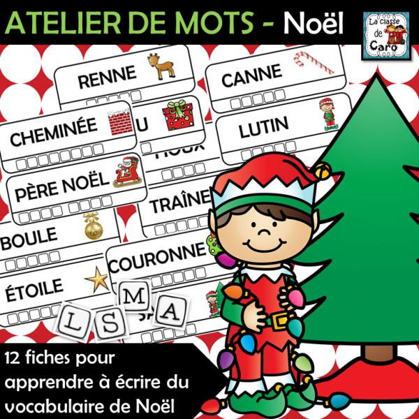 ATELIER DE MOTS - Noël