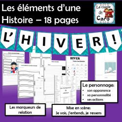 Éléments d'une histoire - HIVER - 18 PAGES