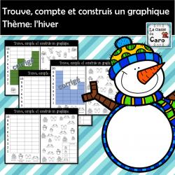 Compte et construis un graphique - HIVER