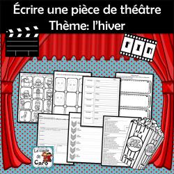 Écrire une pièce de théâtre Thème: l'hiver
