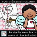 7 CASSE-TÊTE de la ST-VALENTIN