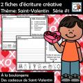 L'écriture créative Thème: Saint-Valentin #1