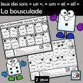 Jeux des sons «un», «um» et «eil» Bousculade