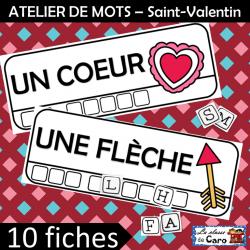 ATELIER DE MOTS – Saint-Valentin