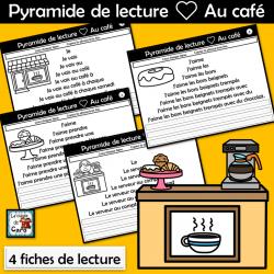 Pyramide de lecture ❤ Au café
