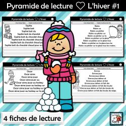 Pyramide de lecture ❤ L'hiver #1