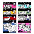 Paquet 16 jeux des sons - La bousculade