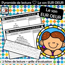 Pyramide de lecture ❤ Le son EUR OEUR