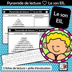Pyramide de lecture ❤ Le son EIL