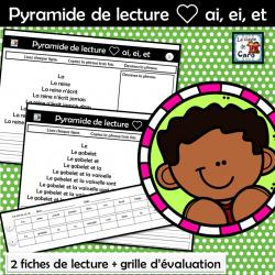 Pyramide de lecture ❤ ai, ei, et
