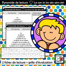Pyramide de lecture ❤ Le son in im ain aim ein