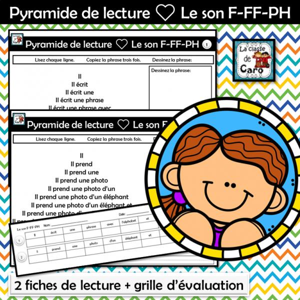 Pyramide de lecture ❤ Le son F-FF-PH