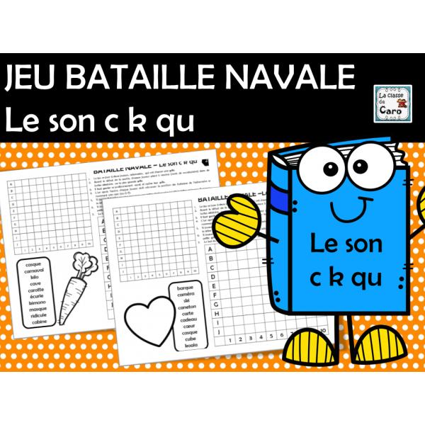 JEU de BATAILLE NAVALE- Le son c k qu