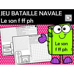 JEU de BATAILLE NAVALE Le son f ff ph