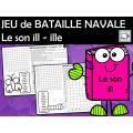 JEU de BATAILLE NAVALE Le son ill - ille