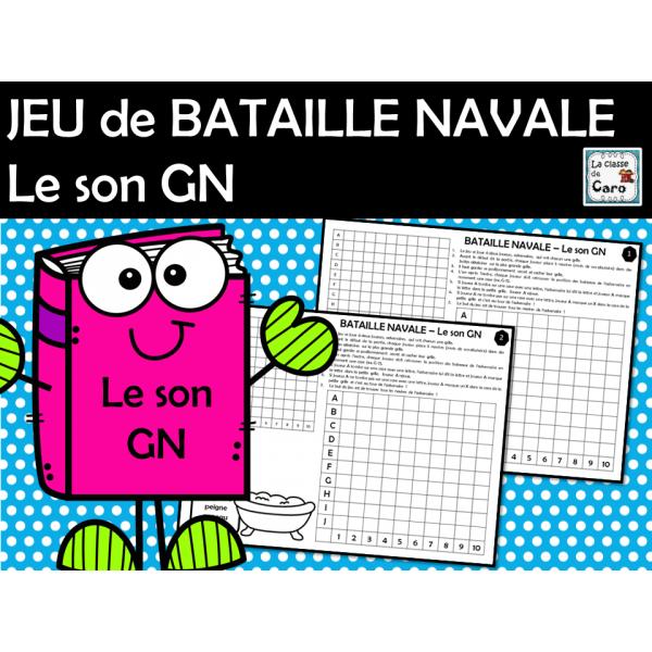 JEU de BATAILLE NAVALE Le son GN
