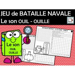 JEU de BATAILLE NAVALE Le son OUIL - OUILLE