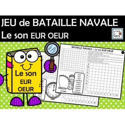 JEU de BATAILLE NAVALE Le son EUR OEUR