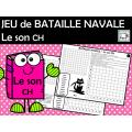 JEU de BATAILLE NAVALE Le son CH