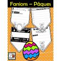 Fanions pour créer une bannière de Pâques