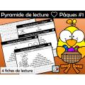 Pyramide de lecture ❤ Pâques #1