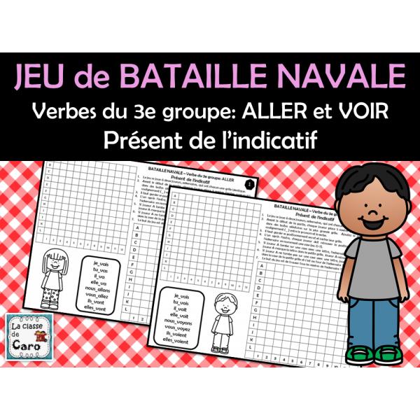 BATAILLE NAVALE 3e groupe: ALLER et VOIR Présent