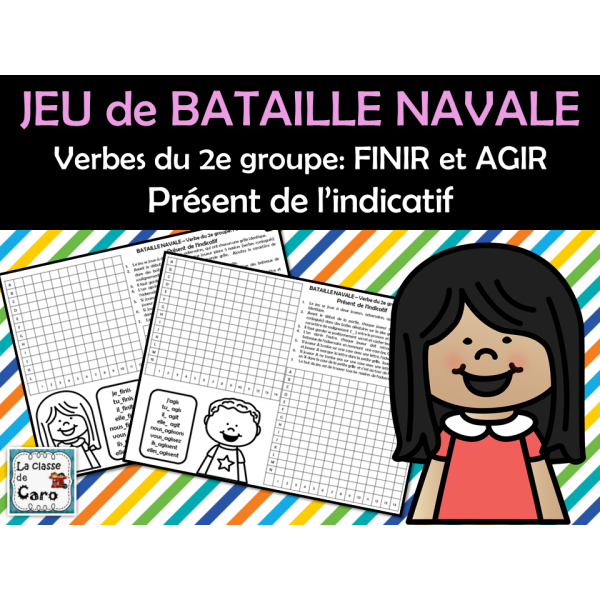 BATAILLE NAVALE 2e groupe: FINIR et AGIR