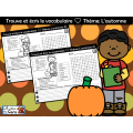 Trouve et écris le vocabulaire ❤ L'automne