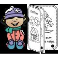 C'est l'hiver - Livre pour les lecteurs débutants
