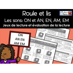 Roule et lis - Jeux et évaluations ON - EN