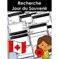 Recherche Jour du Souvenir - Version canadienne