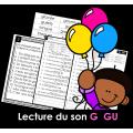 Lecture du son G  GU  ❤