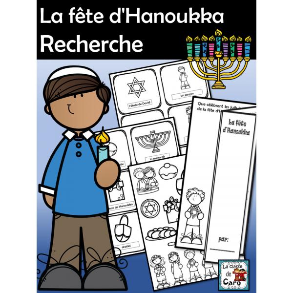 La fête d'Hanoukka - Recherche