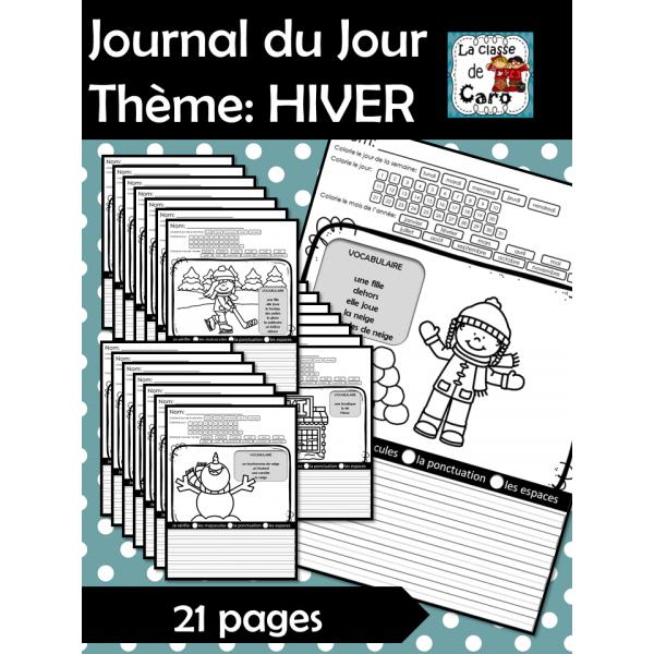 Journal du jour ☸ Thème: HIVER