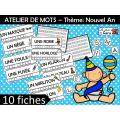ATELIER DE MOTS – Thème: Nouvel An